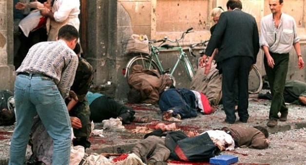BOSNIA AND HERCEGOVINA - WOUNDED CITIZENS